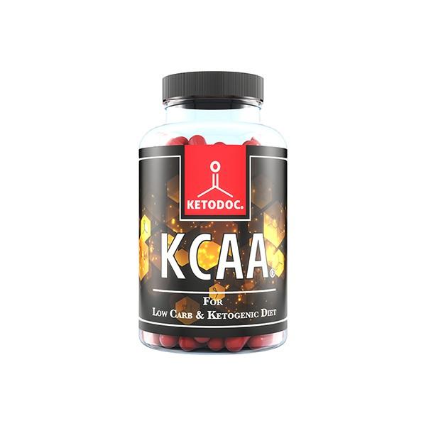 KCAA Kapseln von KETODOC - Keto & Low Carb