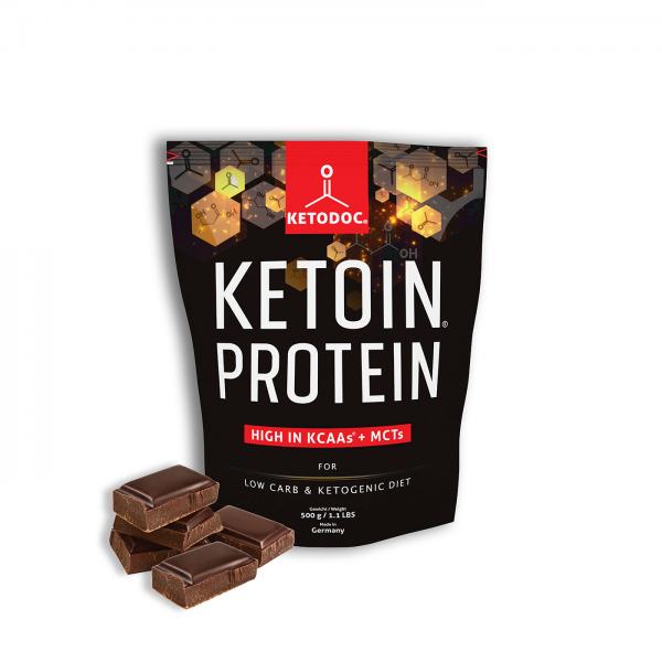 KETOIN® Protein - Eiweißpulver Schokolade | KETODOC®